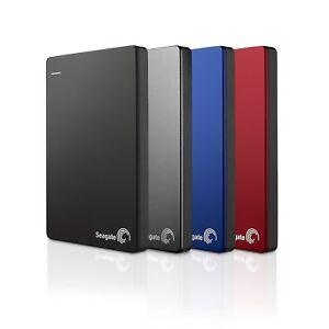 Seagate Backup Plus Slim Portable, externe tragbare Festplatte, USB 3.0, PC 1TB