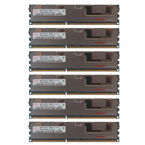 48GB Kit 6x 8GB HP Proliant BL28C BL2X220C DL160 DL170E SL160Z G6 Memory Ram