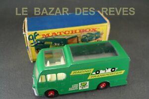 MATCHBOX-GB-Camion-racing-car-transporter-034-BP-034-REF-M6-Boite