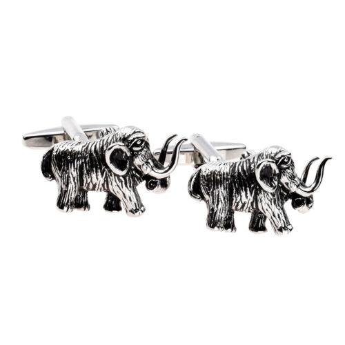 Woolly Mammoth alto detalle Gemelos en una caja de cuero 3D-X2AJ963-xcbox