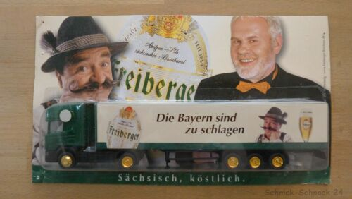 """Hümmer 1:87 Scania 124L 420 SZ /""""Freiberger Die Bayern sind zu schlagen/"""" #25469#"""