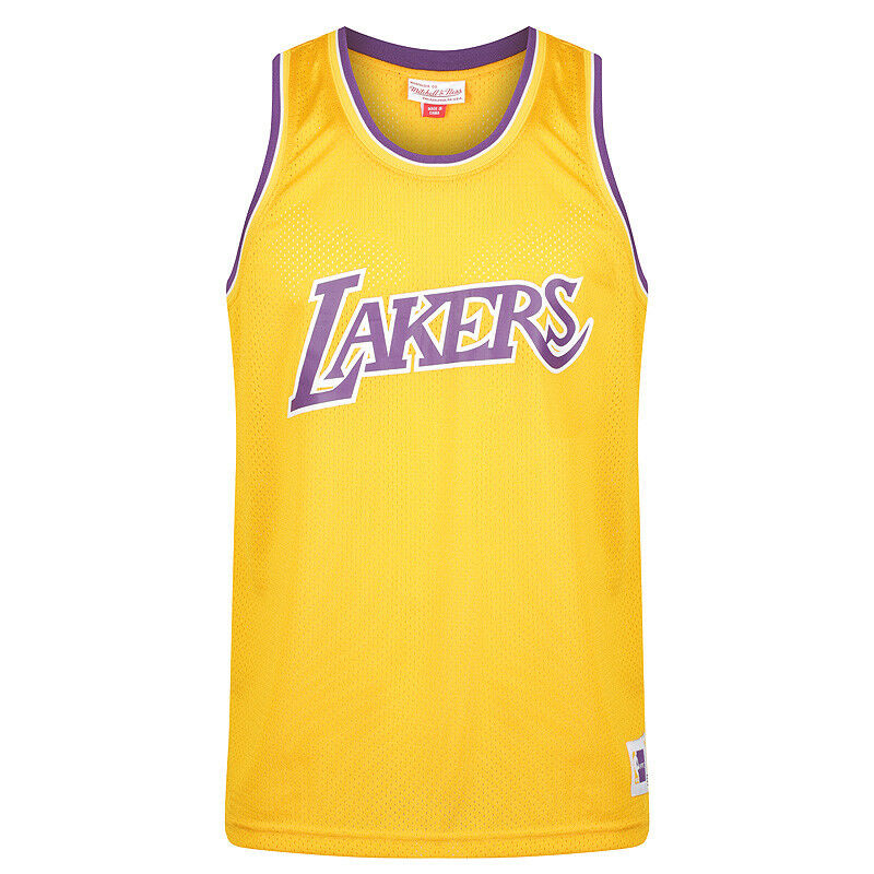 Mitchell & Ness NBA Los Angeles Lakers Mesh Tank