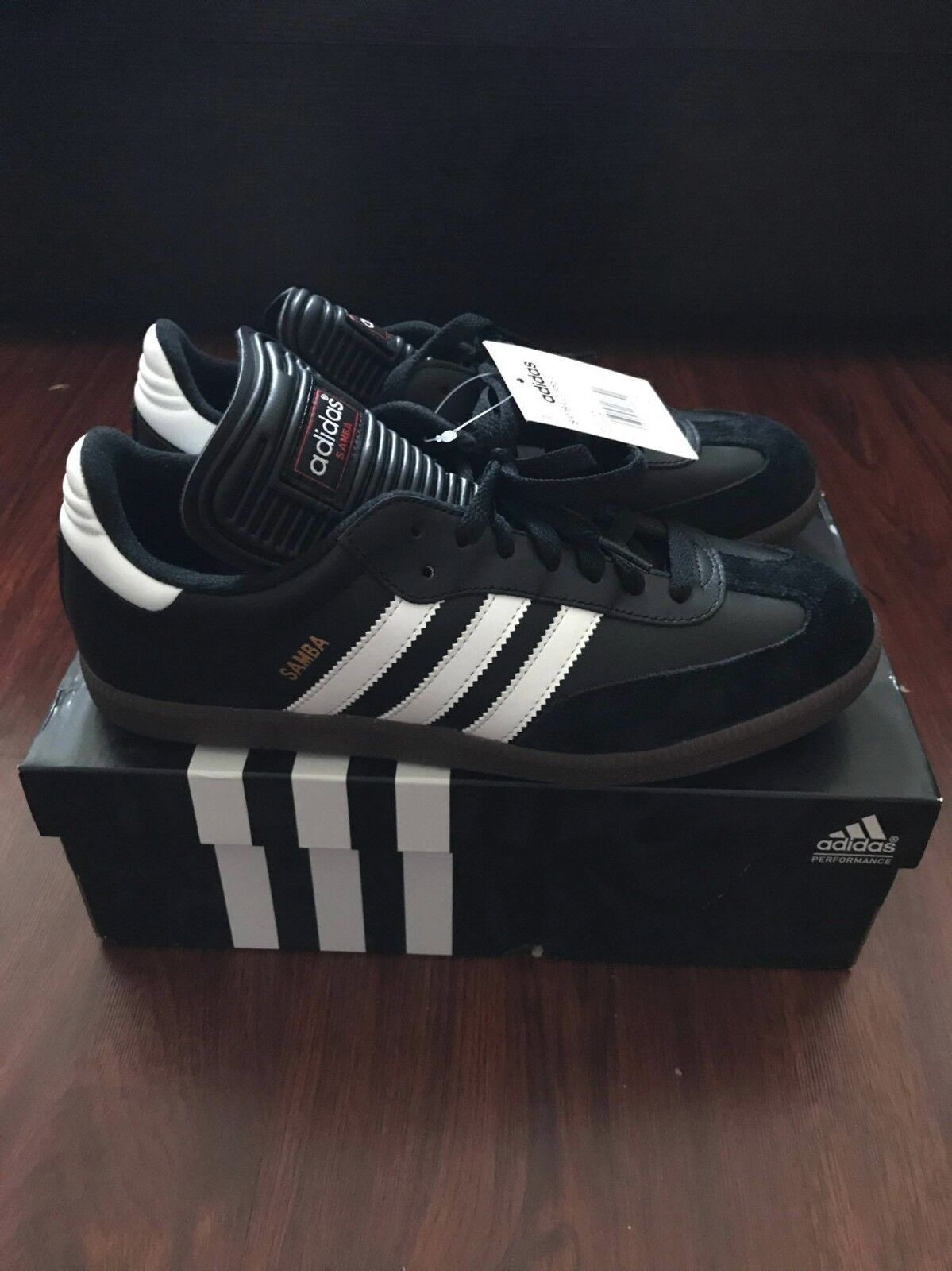 adidas Samba Men's Originals Black Trainers Black Originals cf6fa8