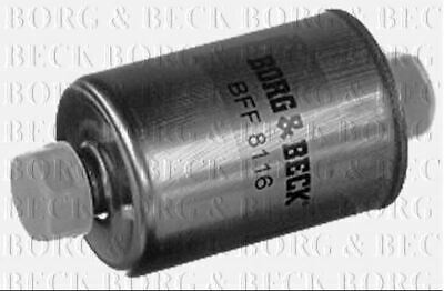 BORG /& BECK FUEL FILTER FOR FORD FIESTA PETROL ENGINE 1.3 55KW