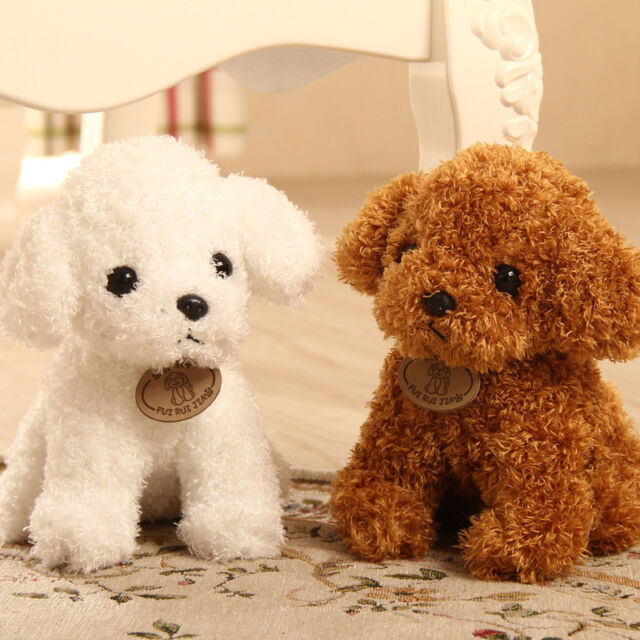 Pet Dog 18CM Puppy Dog Plush Small Pet Stuffed Soft Toy Christmas Gift