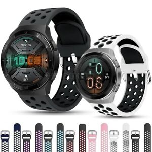 For Various Huawei Smart Watch Silicone Sports Band Strap Breathable