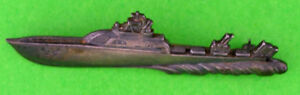 Rare-original-WWII-Army-Air-Corps-Crash-Rescue-Boat-badge-Balfour-Sterling-AAF