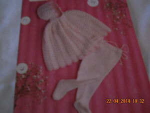 Babies-Hooded-Cape-and-Pull-ups-size-16-19-knitting-pattern