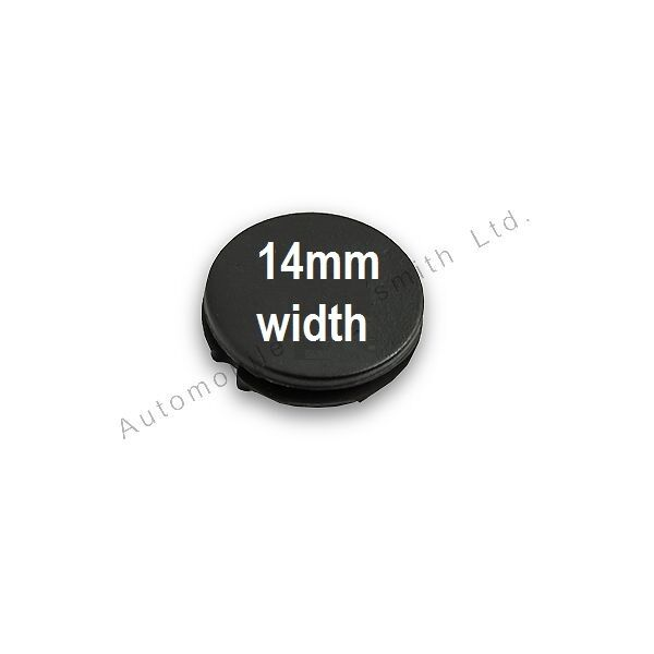 14mm Rubber button pad for Peugeot 106 306 406 1 2 button remote key repair