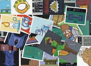 The-Legend-of-Zelda-1-amp-2-Sticker-1992-Nintendo-NES-retro-spiel-konsole-ZE2