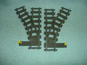 Lego-Eisenbahn-4531-9V-Weichenpaar