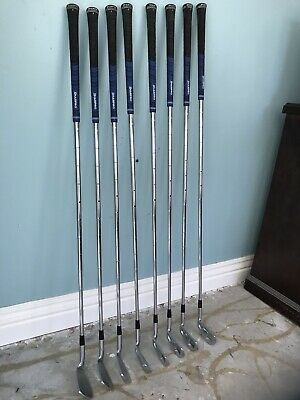 Mizuno T-Zoid Pro Iron Set 3-PW Firm Flex Steel Shafts -VG Cond! Free Shipping!  | eBay
