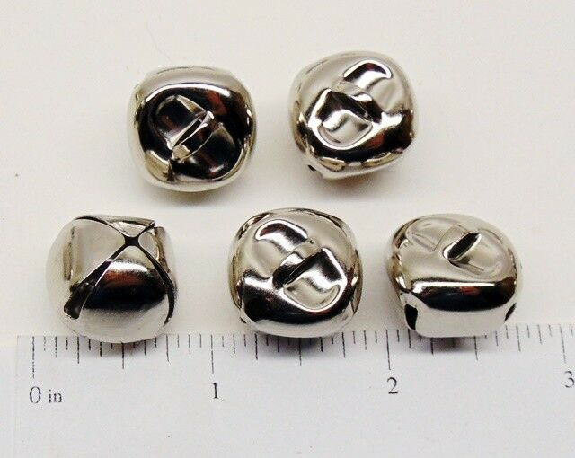 100 pcs multi-colour aluminium bell charms 8 mm*