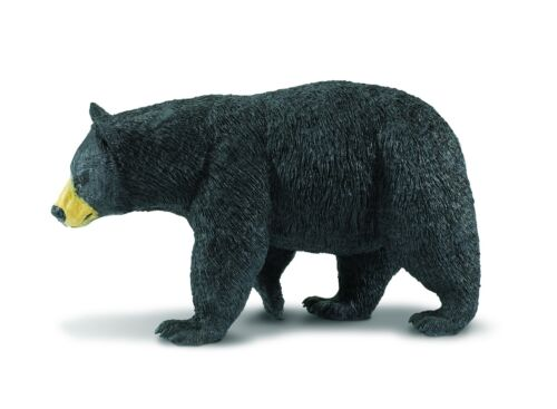 AMERICAN BLACK BEAR 2012 Safari Ltd Wildlife Wonders 112589 NEW Ursus 1:10 scale