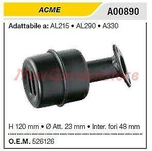 Marmitta silenziatore ACME per motozappa AL215 290 330 A00890