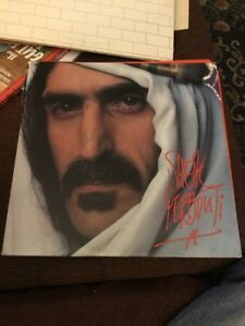 Double-rock-lp-Frank-Zappa-Sheik-Yerbouti-1979-Zappa-records-orig-sleeves-exc