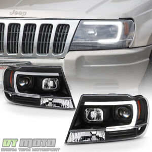Exceptional Image Is Loading Blk 1999 2004 Jeep Grand Cherokee OPTIC LED