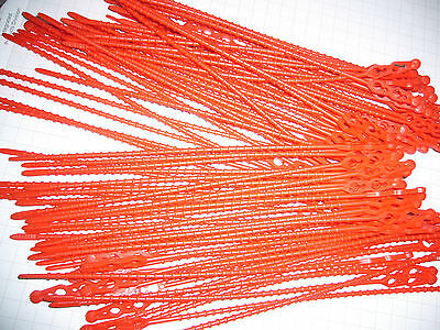 Schnellbinder Blitzbinder Kabelbinder immer wieder lösbar 50 st 320mm lang 1