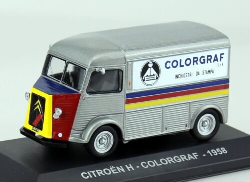 Citroen Typ H Colorgraf Transporter 1958 1:43 Ixo//Alt Modellauto Die-cast