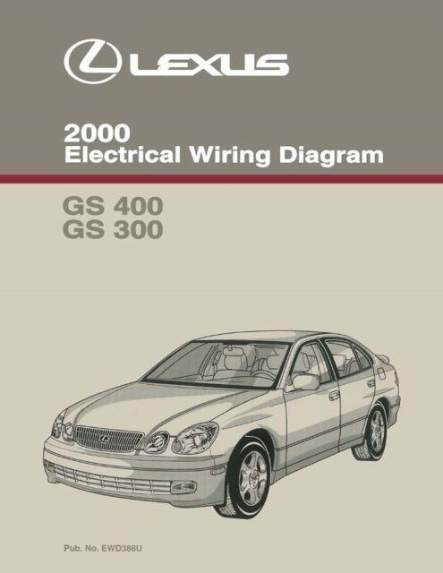 2000 Lexus Gs 400 Gs 300 Wiring Diagrams Schematics Layout
