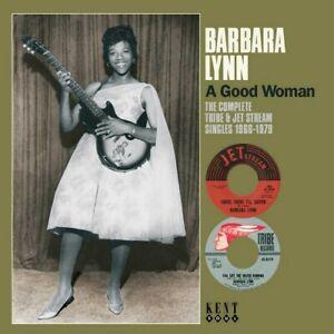 BARBARA-LYNN-A-Good-Woman-Singles-NEW-amp-SEALED-60s-70s-SOUL-CD-KENT-NORTHERN