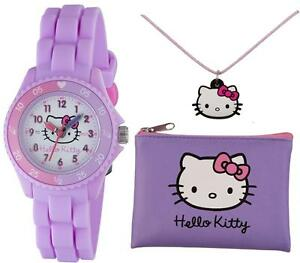 TIKKERS-HELLO-KITTY-GIRLS-TIME-TEACHER-WATCH-PURSE-amp-NECKLACE-SET-RRP-19-99