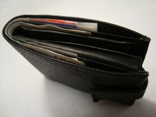 Soft Cow Leather Wallet with Id Space and Button Closer