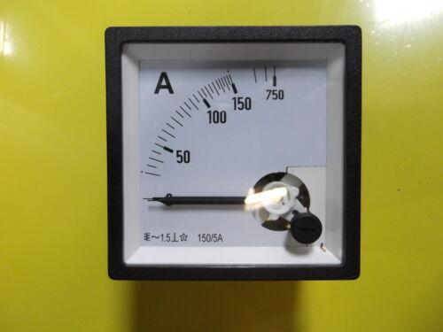 Amperometro 0-150a//5 5x O//S