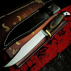 Straight Blade Knife Knives Sanding Finland Outdoor Camping Tactical Vintage Set