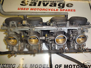 Kawasaki Zzr 600 E 1993 2004 Carburettors Used Motorcycle Parts Ebay
