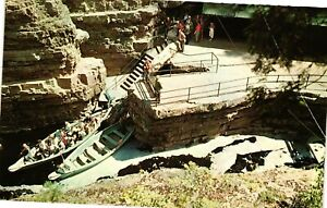 Vintage Postcard - Start Of Boat Ride Table Rock Ausable Chasm New York NY #1694