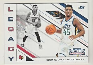2018-19-Panini-Contenders-Draft-Picks-LEGACY-10-DONOVAN-MITCHELL-QTY-AVAILABLE