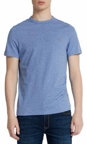 Farah Dennis S//S T-Shirt In Boy Blue Marl