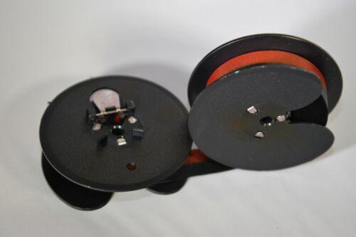 New Royal Magic Margin Typewriter Ribbon Black Red Ribbon on 2 3//8 in Spool