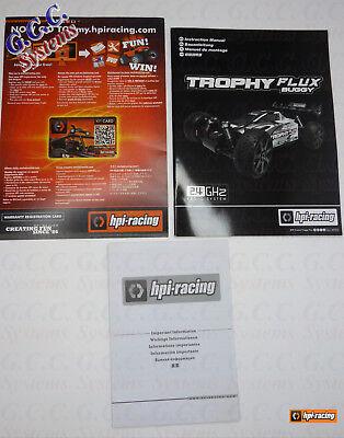 Buggy HPI Trophy Flux Manuel Pack-Neuf