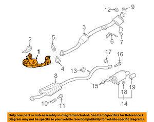 subaru oem exhaust diagram wiring data schematic u2022 rh masterlimobc com Subaru Legacy Exhaust System Diagram 2002 Subaru Forester Exhaust Diagram