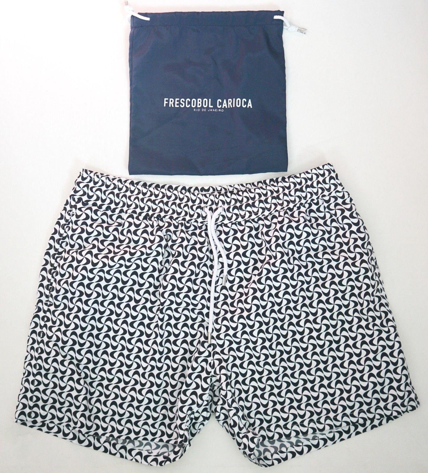 NWT Authentic FRESCOBOL CARIOCA Swim Shorts Trunks Beachwear XXXL 3XL