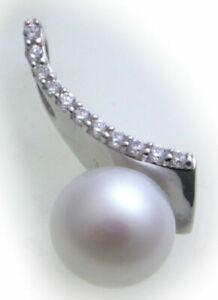 Damen-Anhaenger-echt-Silber-925-Zirkonia-Sterlingsilber-Perlen-rhodiniert