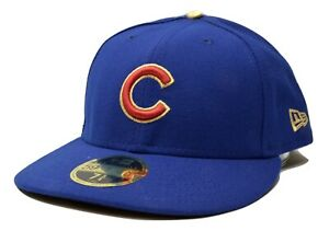 Chicago Cubs New Era 59FIFTY World Series Low Crown Fitted MLB Baseball Hat