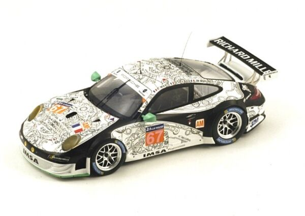 Porsche 911 GT3 Rsr (997) No.67 Imsa Performance Matmut Lemans 2014 ( E. Maris