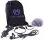Original-Seller-Purple-Panda-Lavalier-Lapel-Microphone-Kit-Clip-on-Lav-Mic