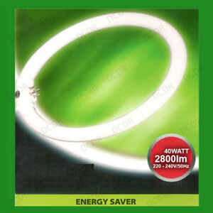 2x-40-W-G10Q-4-broches-T9-Rond-400-mm-Circulaire-Lampe-Tube-Fluorescent-Ring-Light-Ampoule