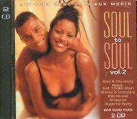 Soul to Soul 2 (2001, BMG) Kool & the Gang, Chic, Cameo, Usher, De Barg.. [2 CD]