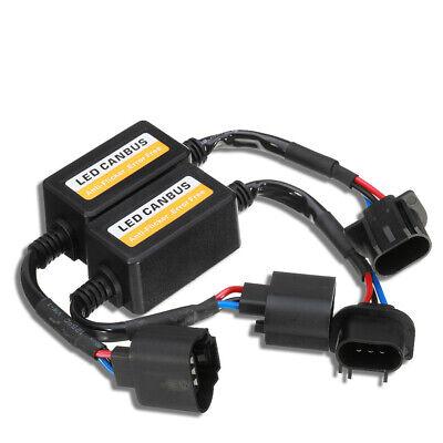 LED Headlight H13 Bulb Resistor Decorder Error Free for Dodge Ram 1500 2500 3500