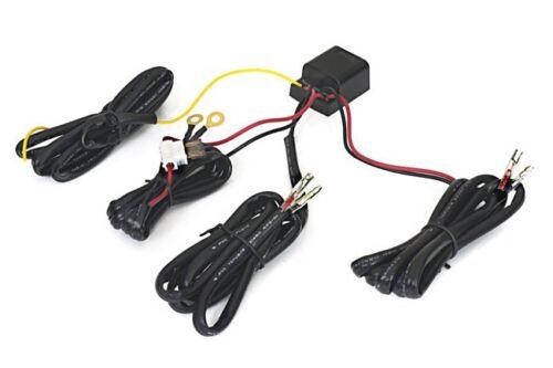 Universal LED Tagfahrlicht Tagfahrleuchten Modul Relais R87 Kabelbaum Stecker