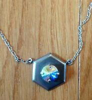 Sabika In The Mood Modern 1-stone Necklace S804 Rhinestone Retired Rare Cute