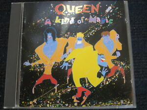 CD-QUEEN-A-Kind-of-Magic-EMI-Black-Face-Neuwertig-7-46267-2