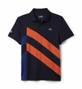 f708c890d LACOSTE SPORT POLO SHIRT BNWT - SMALL T3 - NAVY - ULTRA DRY - DH8017 ...