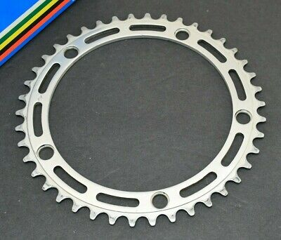 CAMPAGNOLO NUOVO RECORD STRADA 53T CHAINRING 144 BCD NOS ITALY ROAD STEEL FRAME