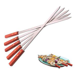 Stainless-Steel-BBQ-Skewers-Shish-Kebab-Fork-Long-Large-Brazilian-Style-20-5-039-039